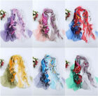 Hot  Floral Women Lady Chiffon Soft Neck Scarf Shawl Scarves Long Stole Wraps
