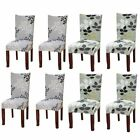 4x Stretch Dining Chair Cover Washable Removable Slipcover Home Furniture Covers