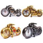 Creative Motorcycle Shape Digital Alarm Clock Quartz Model Home Office Gift DRUS