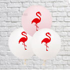 "12"" 10pcs Flamingo Helium Balloons Latex Hawaiian Beach Hen Party Wedding Decor"