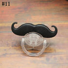 Orthodontic Beard Dummy Baby Silicone Funny Teeth Nipples Pacifier Kids Mustache