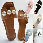 Womens Ladies Flat Espadrille Rose Strappy Sandals Wedge Platform Summer Shoes