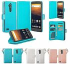 ZTE Carry, Imperial Max, Max Duo, Blade X Max, Glitter Wallet Case Cover Clutch