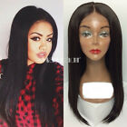 Cheap Brazilian Straight wig Heat Resistant Synthetic Lace Front Wig For Women