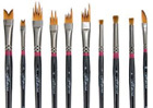 Creative Mark Professional Artist FX Special Effects Paint Brush - Set of 10