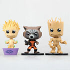 Guardians of The Galaxy Vol. 2 Baby Groot Rocket Raccoon Figure Collectable Toys