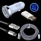 Car Charger Micro Cable USB C Adapter for Samsung Galaxy S8 Plus A7 A5 A3 2017