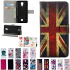 Magnetic Flip stand Card Leather wallet + TPU Case Cover For Huawei Phone