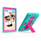 For Amazon Kindle Fire 7 2017 7th Gen Hybrid Shockproof Rubber Hard Case Cover
