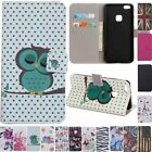 Magnetic Flip stand Card Leather wallet + TPU Case Cover For HTC LG Phone