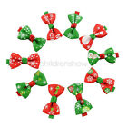 2Pcs Gift Kids Girls Boutique Hair Bow Clips Hairpins Christmas Hair Accessories