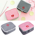 Cute Portable First Aid Kit Bag Travel Camping Outdoors Carry-on Medicine Case
