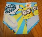 Women's Size 6 (M), 7 (L) Despicale Me Minions Engineer Panties NWT