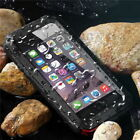 Military Shockproof Metal Heavy Duty Case + Gorilla Glass For Various Cell Phone