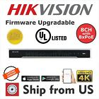 8CH NVR 8 PoE 4K 12MP IP CAM Hikvision OEM MS-8808NI-I2/8P UL LISTED HDD OPTION