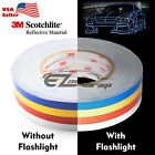 Внешний вид - 3M Reflective Tape Safety Self Adhesive Striping Sticker Decal 150FT / Roll 1CM