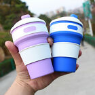 Portable Silicone Retractable Folding Coffee Cup Telescopic Collapsible Travel