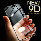 9D Full Tempered Glass Screen Protector For iPhone 6 6S 7 8 Plus X XS MAX XR