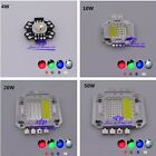 4w 10w 20w 30w 50W RGBW RGB+White High Power LED Module Light Bulb Lamp DIY