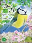 BLUE TIT COUNTRY BIRD WILDLIFE METAL PLAQUE TIN SIGN OTHER ANIMALS LISTED 1257