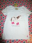 JOULES  Maggie Holiday Applique Horse T-Shirt Age 6 RRP£19.95 Free UK P&P