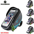 RockBros Bicycle Rainproof Handlebar Bag ReflectiveTouchscreen Shade Baffle Bag