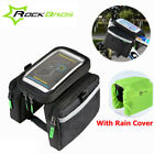RockBros Bicycle Frame Bag Pannier Bike Front Tube Bag 5.8&6.0 Inch Phone Holder