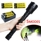 Sporting Goods - 80000Lumens 5Modes LED 12x T6 Tactical Flashlight Torch Super Bright Hunting USA