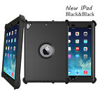 For New iPad 9.7  2017 Defender Protection Case(Shield Stand Fits for Otterbox)