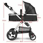 Newborn Baby Stroller High View Anti-shock Infant Pram Carriage from 0~3 years