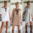 Fashion Women's Ladies Summer Long Sleeve Shirt Loose Casual Blouse Tops T-Shirt