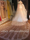 "350cm (138"") Lace Bridal Accessories Veils Long Cathedral Wedding Veil"