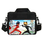 Marinette Ladybug & Adrien Boy Girl Thermal Insulated Lunch Box Picnic Ice Bag