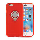 For iPhone 6 6S 7 Plus New Shockproof Case + Ring Stand For Car magnet Stand RD