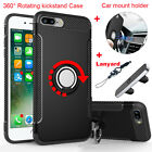 Shockproof Hard Kickstand Case Magnetic Car Mount Holder for iPhone 7 / 7 Plus