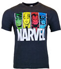 Mens - laylawson Official Marvel 100% Cotton Character T-Shirt