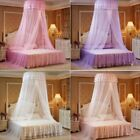 New Fashion Princess Round Bed Canopy Mosquito Net Netting Bedroom Lace Curtains