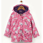 BNWT New Hatley Winged Unicorn Raincoat Girls Coat Pink
