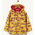 BNWT New Hatley Fire Trucks Raincoat Boys Coat Yellow
