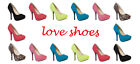 Ladies Faux Suede High Heel Court Shoes with Concealed Platform