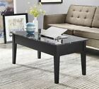 Lift Top Coffee Table Pop Up Tray Living Room Sofa Footstool Storage Dining Tv