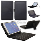 US Stock Gift PU Stand Case Cover+Micro USB Keyboard For 7