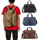 Men's Vintage Canvas Handbag Briefcase Satchel Shoulder Messenger Bag Laptop Bag