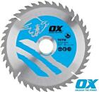 OX TCTW Circular Saw Blades for Wood Cutting 160mm upto 305mm Diameters