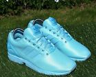 BNWB Genuine Adidas Originals ZX Flux Triple Blue Torsion Trainers Various Sizes