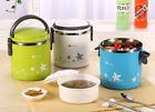 Cute Stainless Steel Bento Box Food Container Thermal Insulation Lunch Box