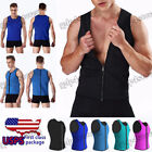 Men Slim Workout Vest Loss Weight Sauna Ultra Sweat Underwear Thermo Shapers