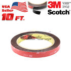 Genuine 3M VHB #5952 Double-Sided Mounting Tape 1/4