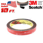 **10 Feet**genuine 3m Vhb #5952 Double-sided Mounting Acrylic Foam Tape Adhesive