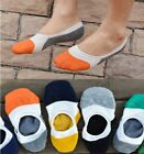 Newest 6/12 Pairs Men Loafer Boat Invisible No Show Liner Cotton Socks